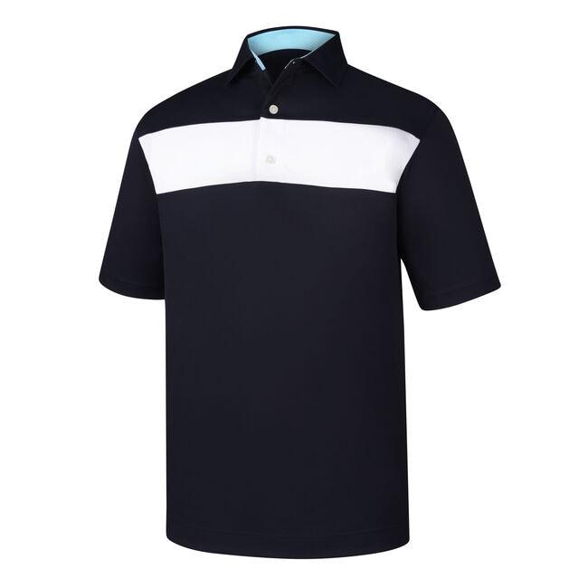 Smooth Pique Pieced Stripe Self Collar-Previous Season Style