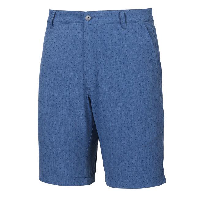 Lightweight Woven Tonal Print Shorts