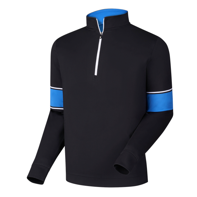 Performance Half-Zip + Engineered Sleeves-Previous Season Style