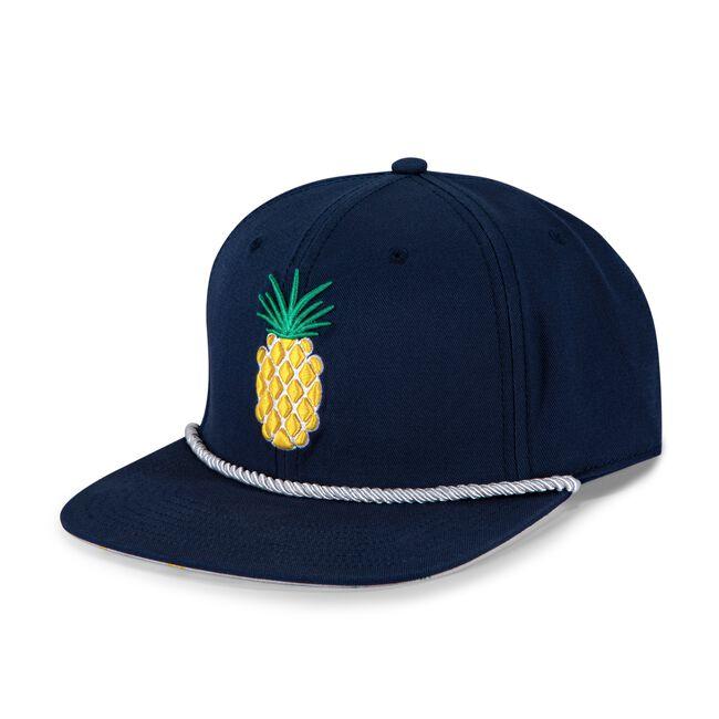 Flat Brim Pineapple Rope Cap