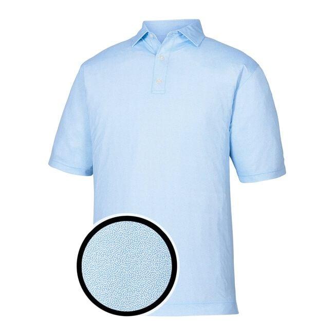 Lisle Dot Print Self Collar