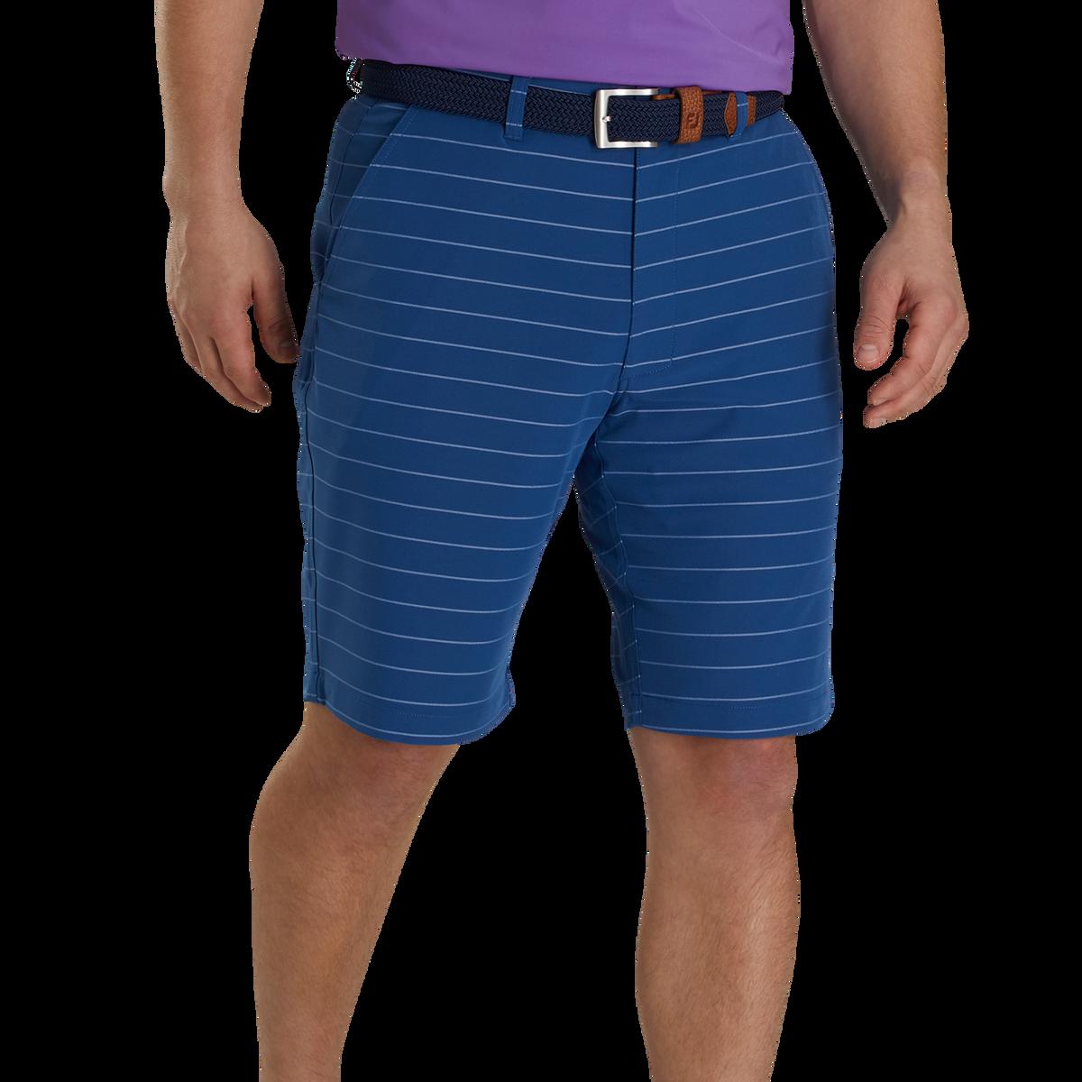 Lightweight Striped Shorts