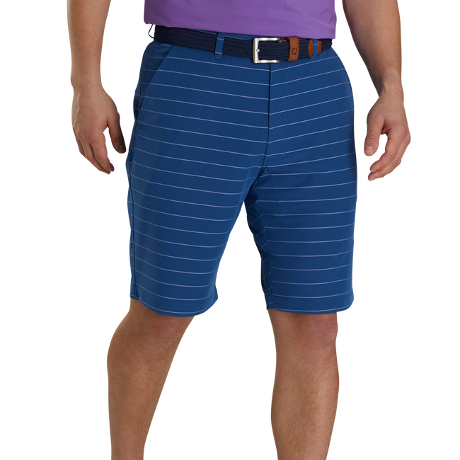 Lightweight Striped Shorts-Previous Season Style