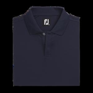Pique Block Sleeve Knit Collar-Previous Season Style