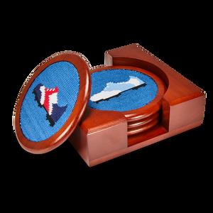 Needlepoint Coaster Set