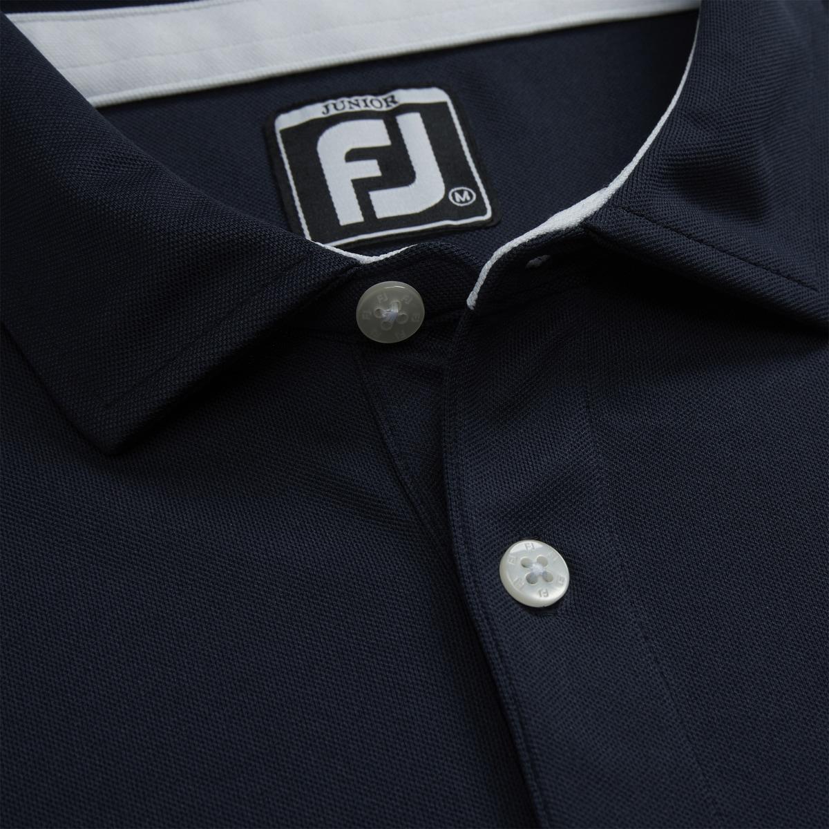 Solid Pique Self Collar Junior