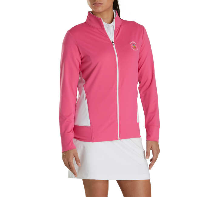 2020 U.S. Open Full-Zip Panel Pocket Mid-Layer Women
