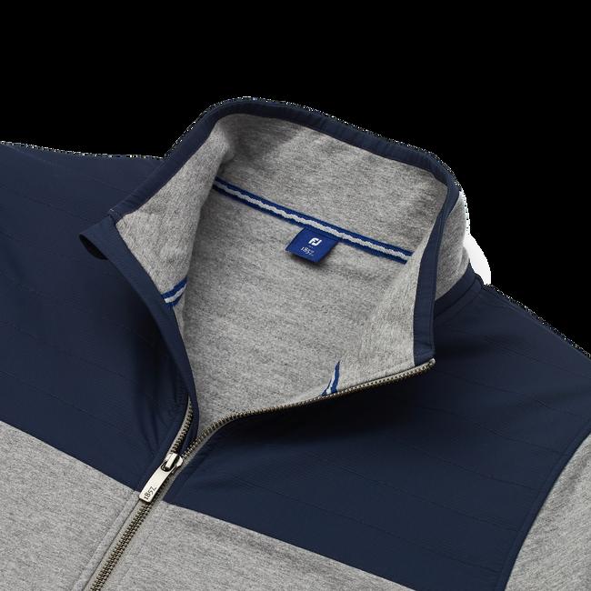Brushed Back Jersey Full-Zip