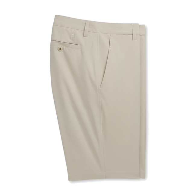 "Flat Front Shorts 9.5"" Inseam"