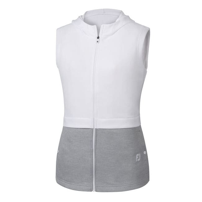 Double Layer Hooded Vest Women-Previous Season Style