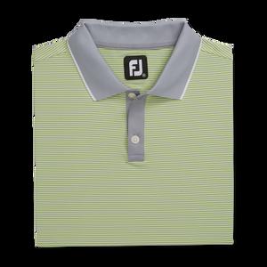 Lisle Ministripe Knit Collar-Previous Season Style
