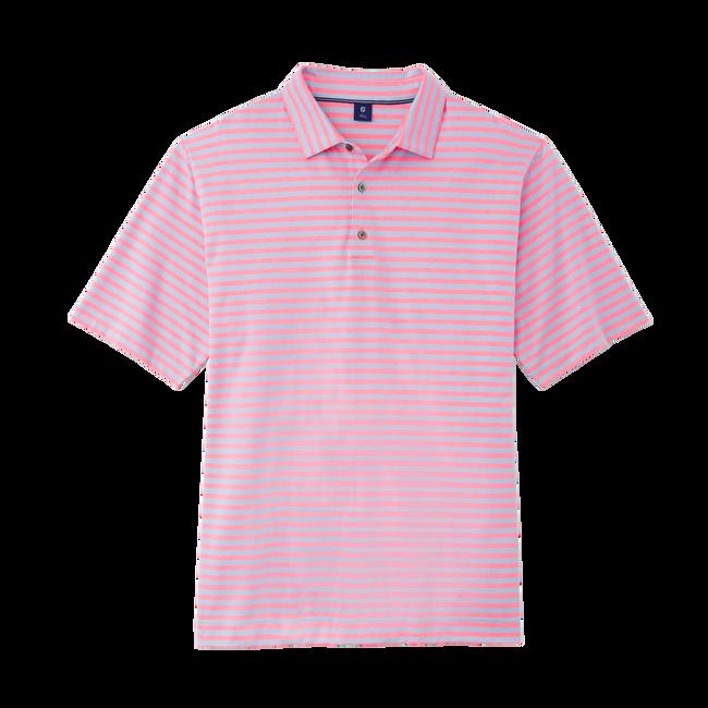 Jacquard Birdseye Stripe Shirt