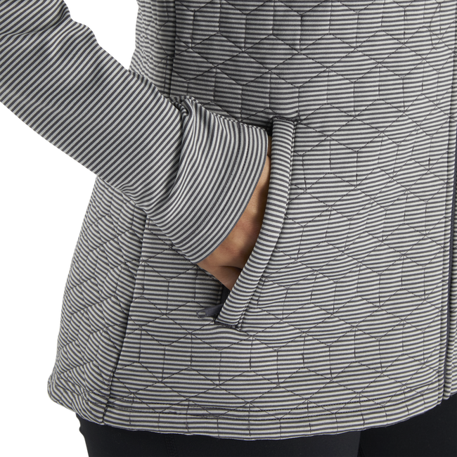 Quilted Hybrid Jacket Women-Previous Season Style