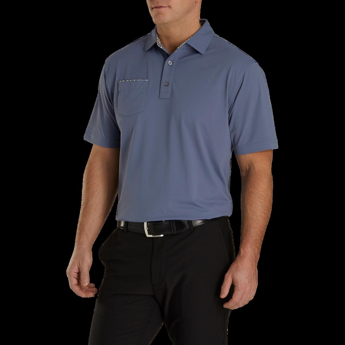 Super Stretch Pique Self Collar