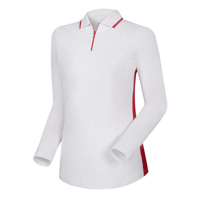 Zip Placket Sun Protection Shirt Women-Previous Season Style