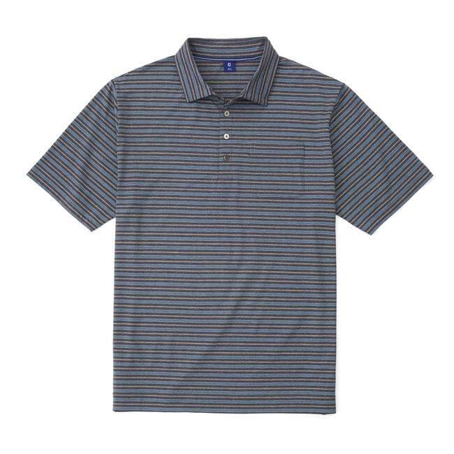 Lisle Vintage Stripe with Pocket Shirt