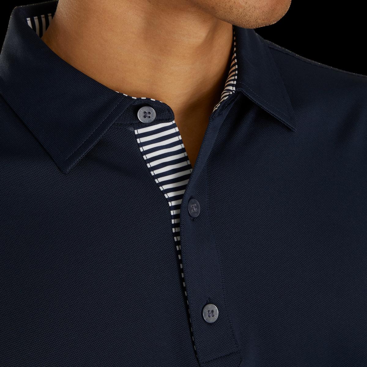 Stretch Pique Self Collar