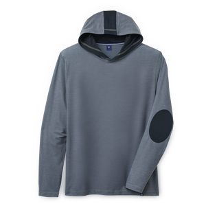 Jacquard Pullover Hoodie-Previous Season Style