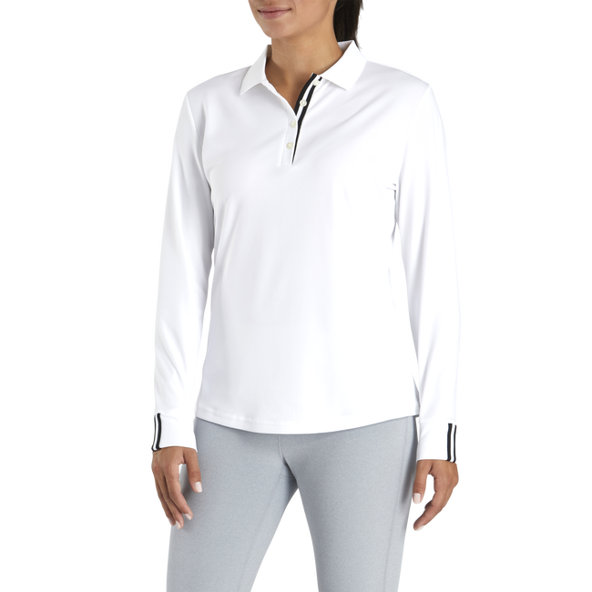 Pique Sun Protection Shirt Women