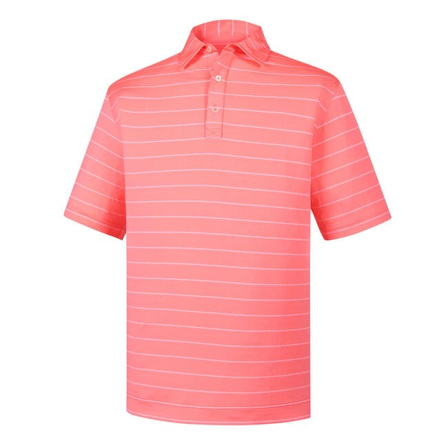 Lisle Double Pin Stripe Self Collar