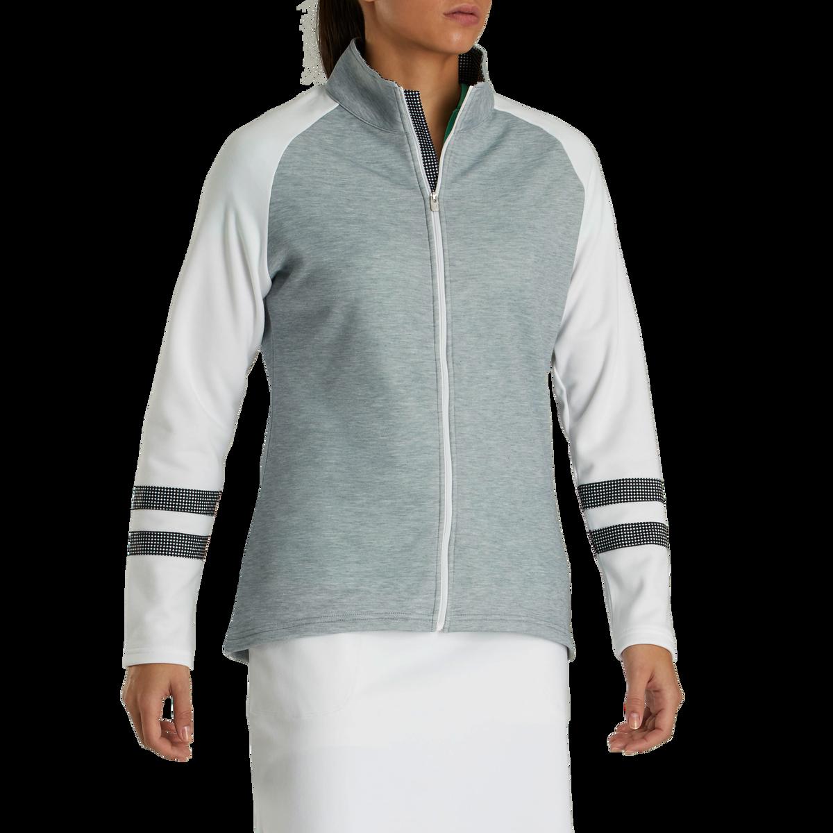 Full-Zip Raglan Color Block Mid-Layer Women