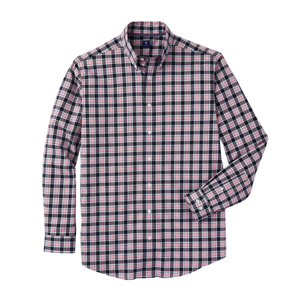 Stretch Cotton Woven Plaid-Previous Season Style