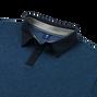 Pima Lisle with Contrast Collar & Placket