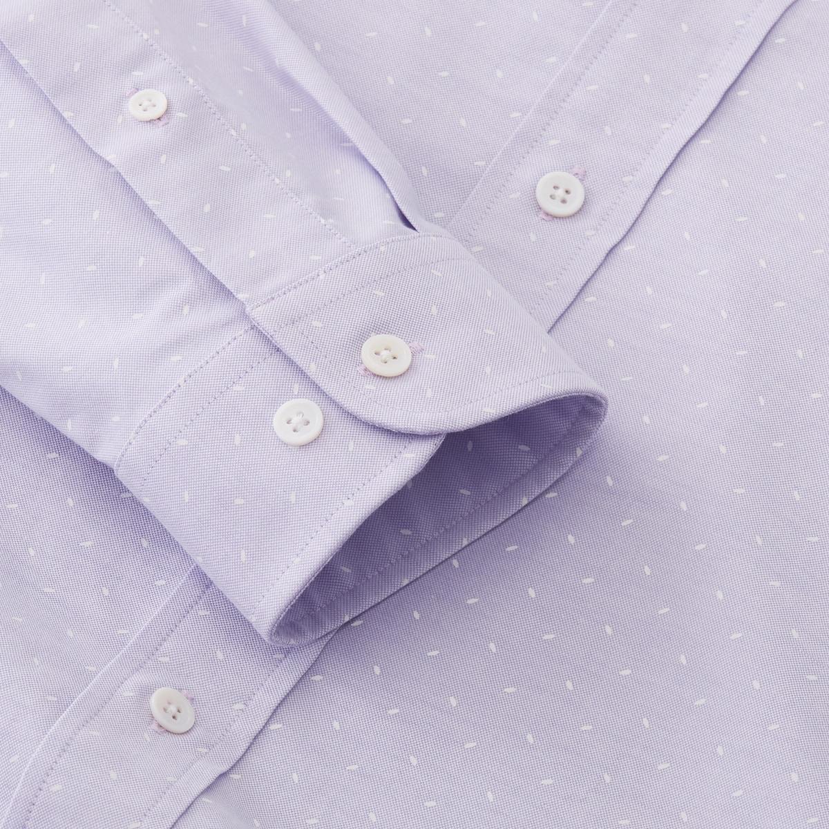 Oxford Shirt with Overprint-Previous Season Style
