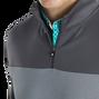 Double Jersey Pieced Quarter-Zip-Previous Season Style
