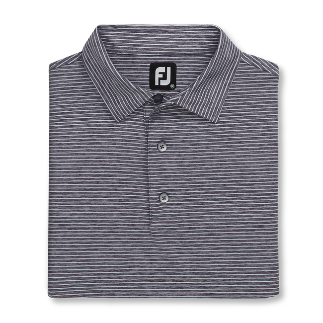 Heather Pinstripe Lisle Self Collar