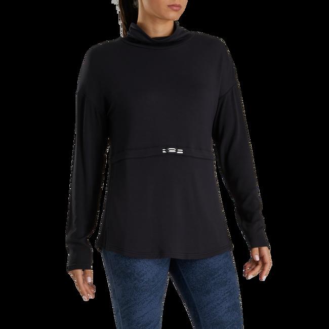 Funnel Collar Pullover Women