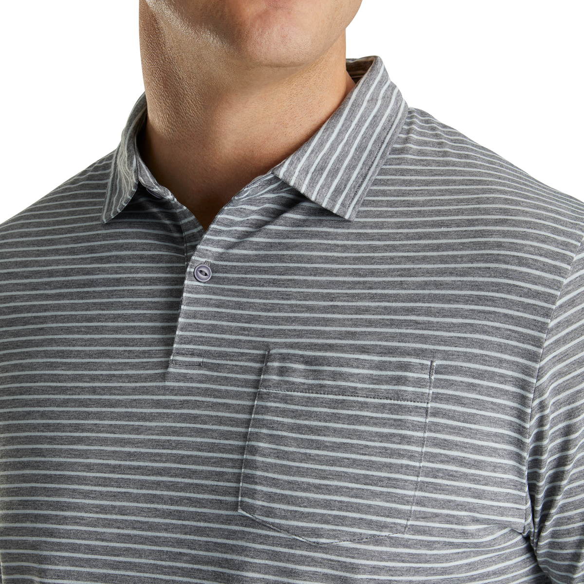Coastal Collection Athletic Fit Pinstripe