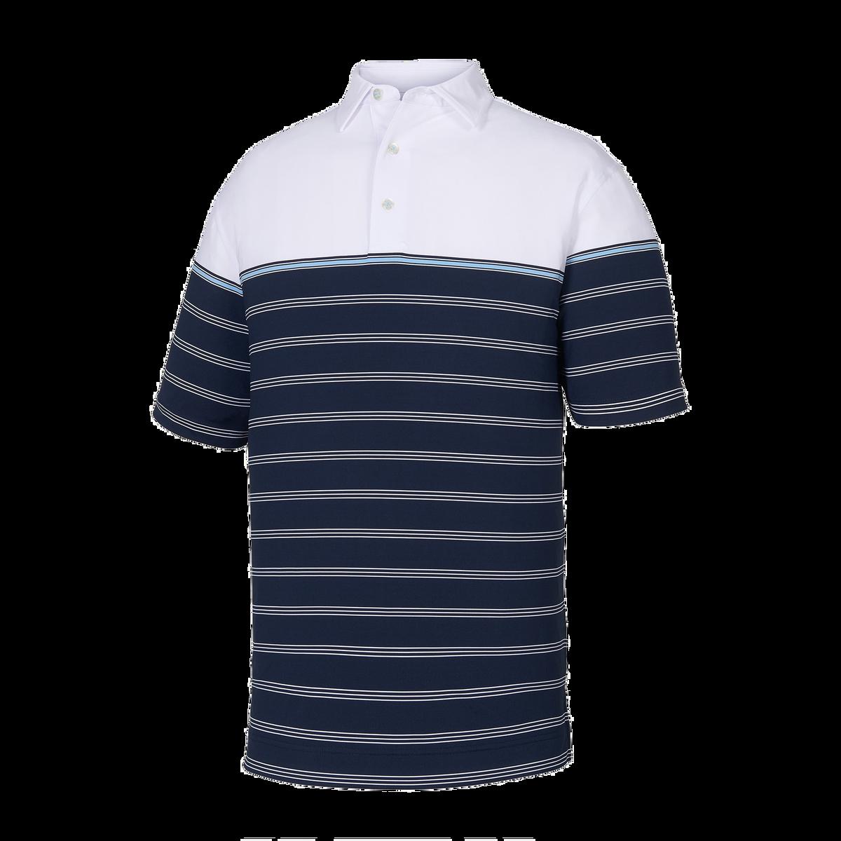 Lisle Colorblock Stripe Self Collar-Previous Season Style