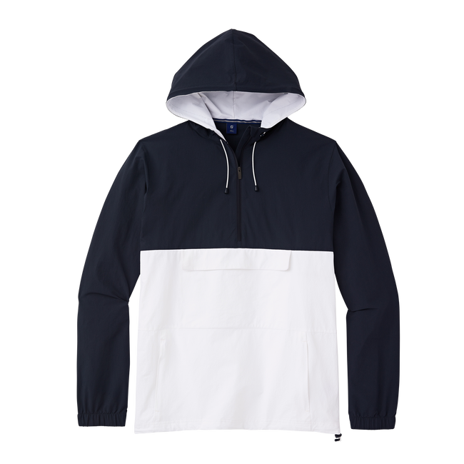 Quarter-Zip Anorak Jacket
