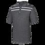 Space Dye Double Chest Stripe Birdseye Knit Collar-Previous Season Style