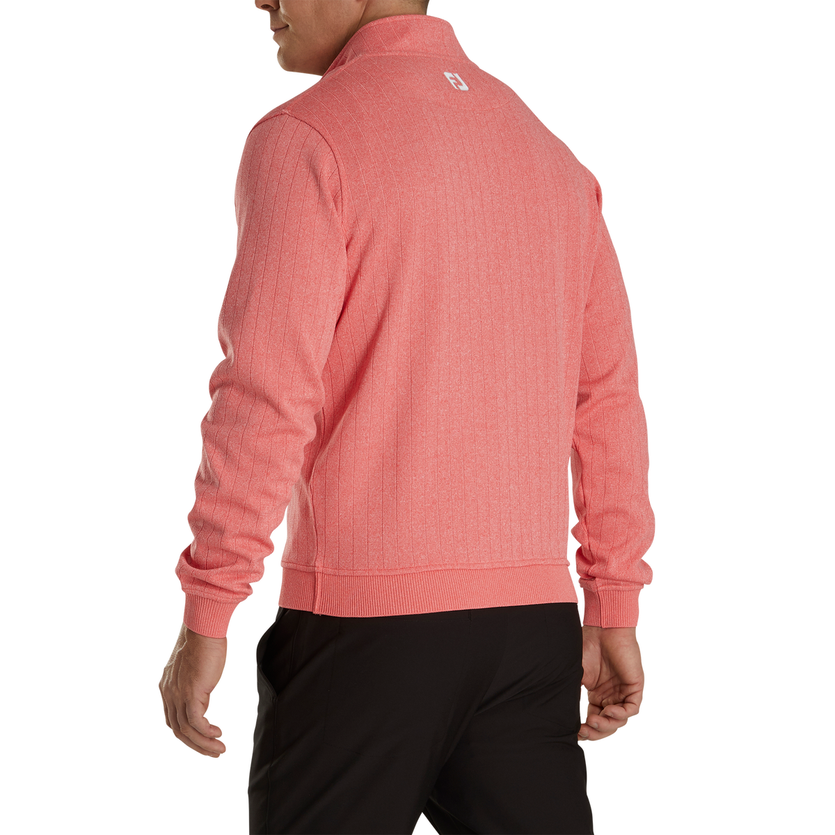 Drop Needle Half-Zip Gathered Waist-Previous Season Style