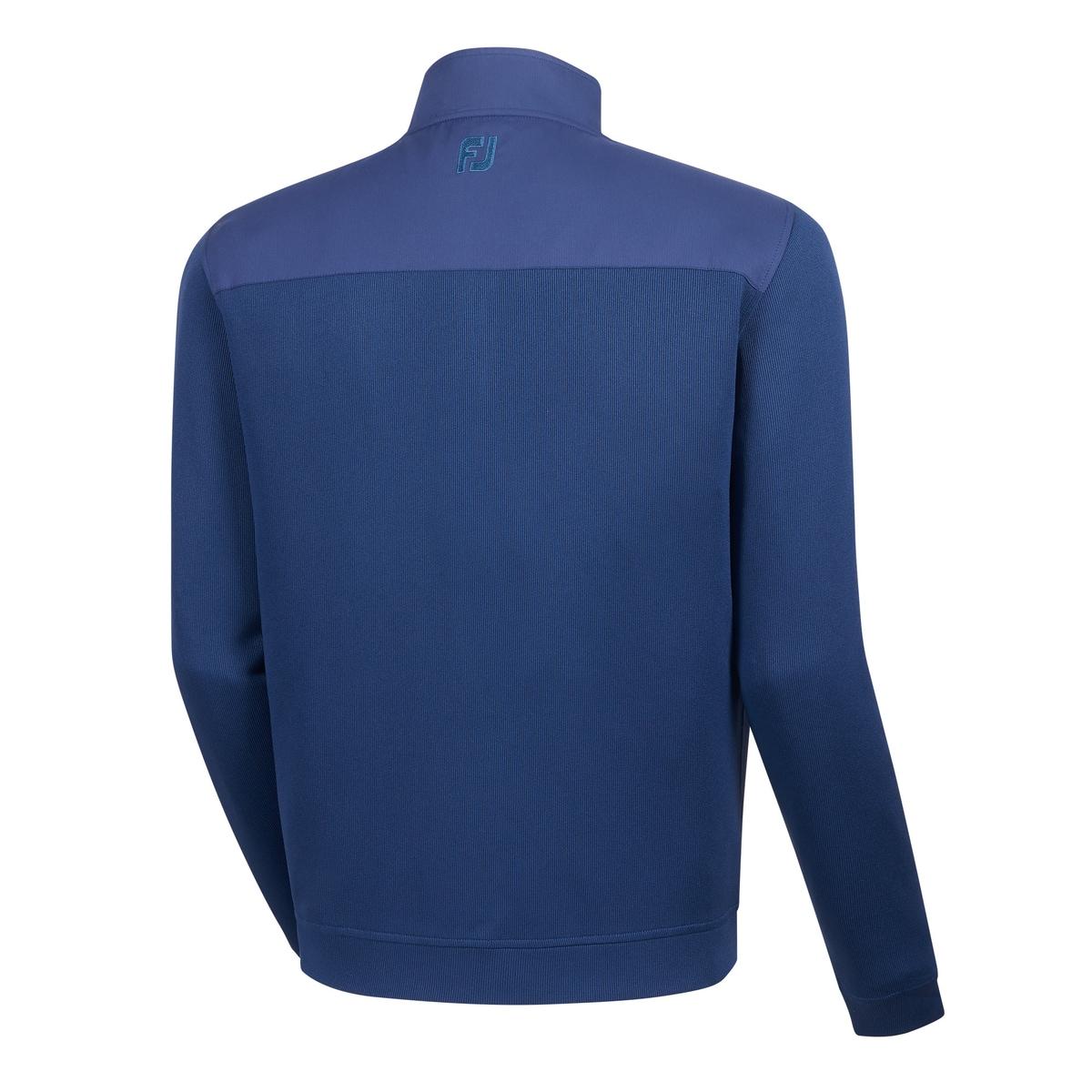 Flat Back Rib Full-Zip Mid Layer-Previous Season Style