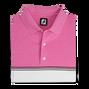 Color Block Lisle Knit Collar