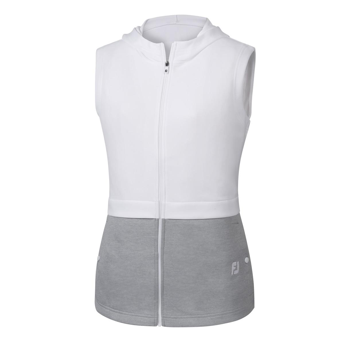 Double Layer Hooded Vest Women