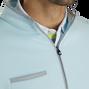 Fleece Quarter-Zip Contrast Trim