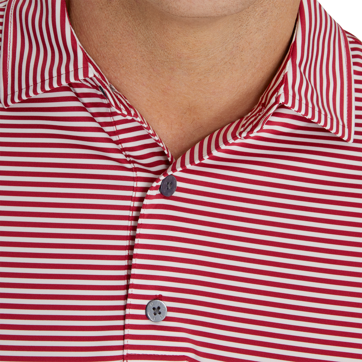 Lisle Feeder Stripe Self Collar