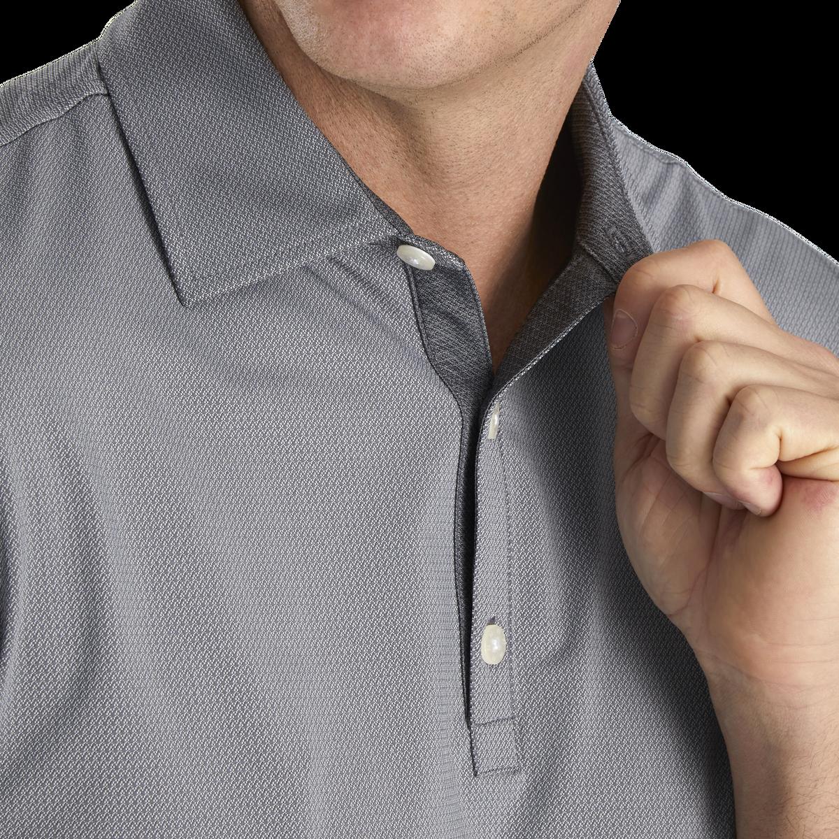 Micro Jacquard Self Collar