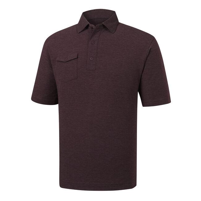 Spun Poly Chest Pocket Self Collar-Previous Season Style