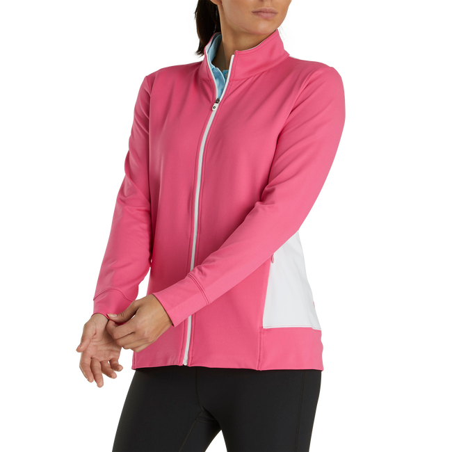 FullZip Panel Pocket MidLayer Women