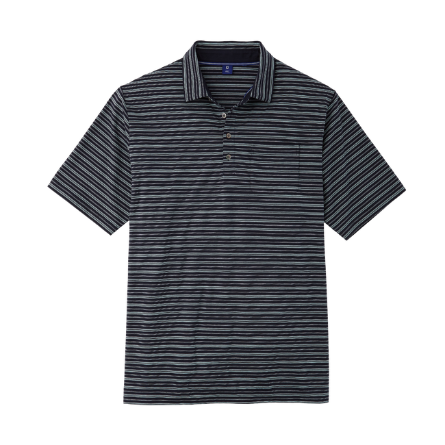 Supima Lisle Vintage Stripe-Previous Season Style