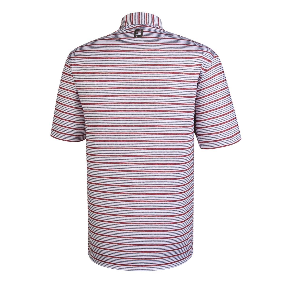 Lisle Space Dye Stripe Self Collar