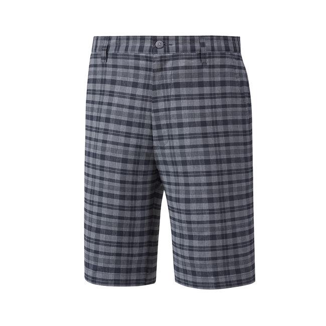 Tonal Plaid Shorts-Previous Season Style