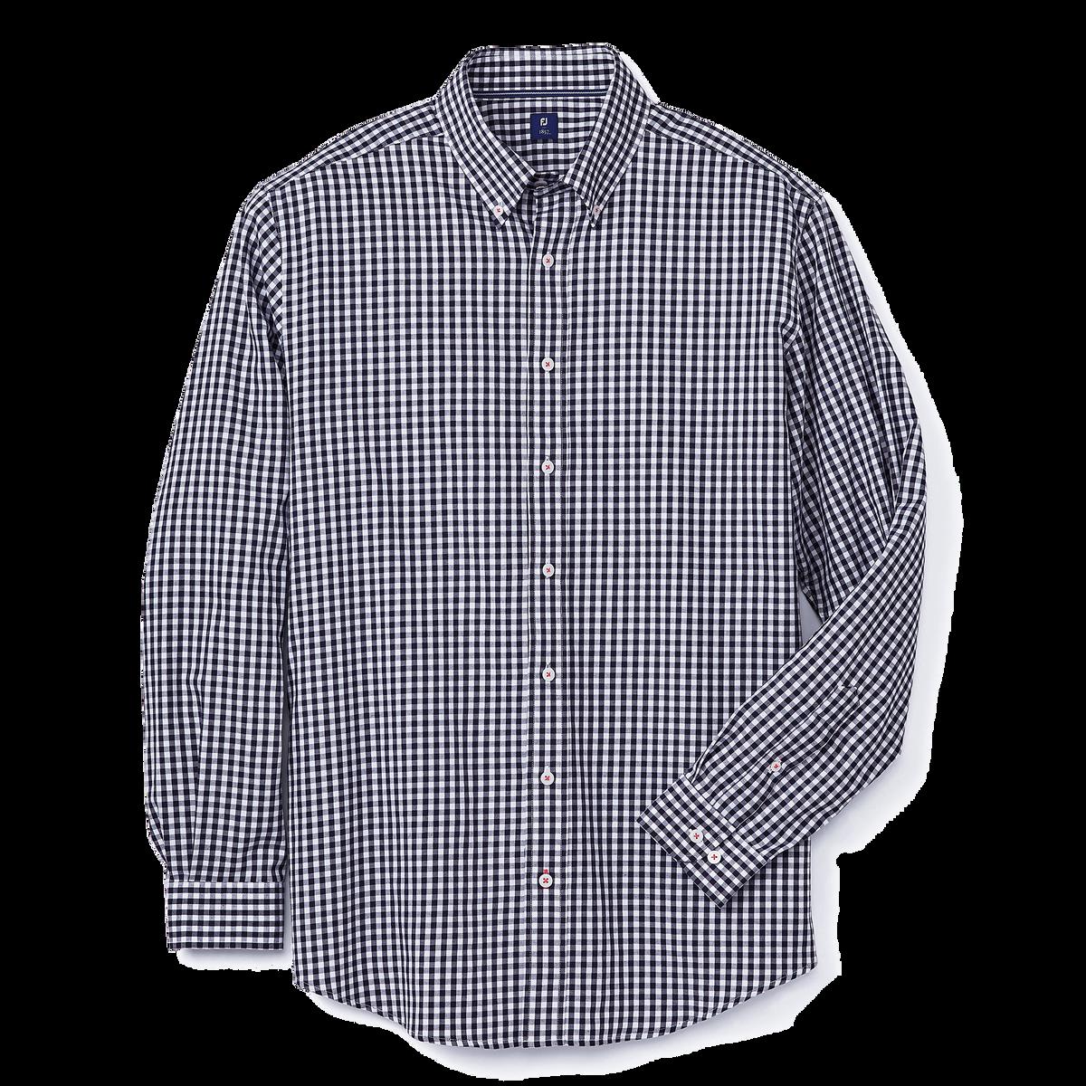 Brushed Gingham Woven Shirt