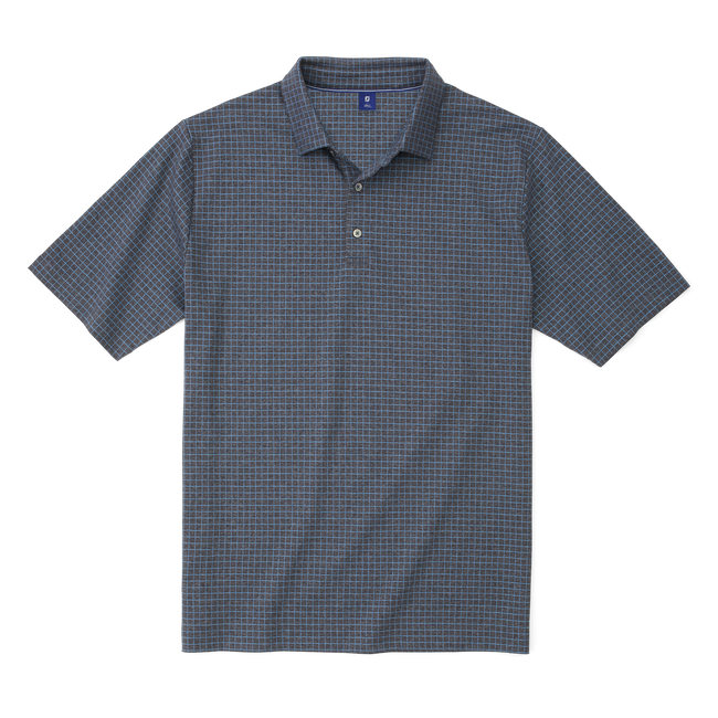 Jacquard Knit Windowpane Shirt-Previous Season Style