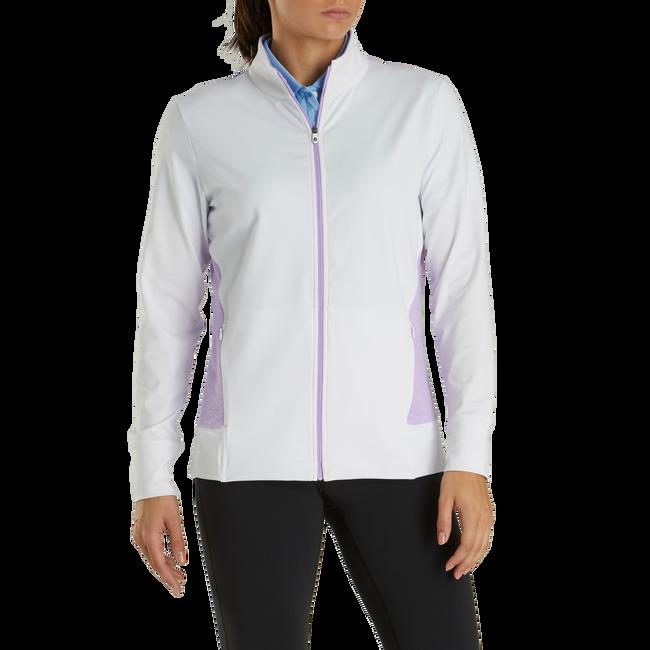 Full-Zip Panel Pocket Mid Layer Women-Previous Season Style